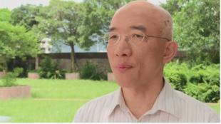 香港科技大学社会学部副教授成名接受法新社采访。