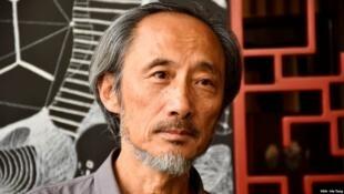 Nhà văn Mã Kiến tại Hồng Kông, tháng 11/2018.