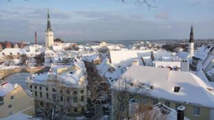 Une vue générale de Tallinn, capitale européenne de la culture 2011.