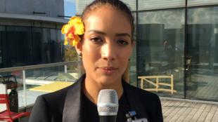 Medjo, « e-POPer » à la COP23 de Bonn, en Allemagne.