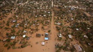 Cidade da Beira em Moçambique.