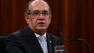 O presidente do TSE, ministro Gilmar Mendes