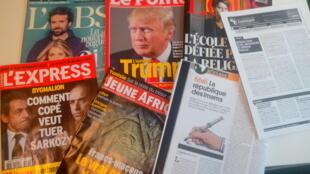 Capas dos magazines news franceses de 27 de fevereiro de 2016