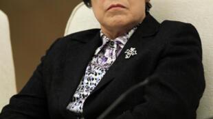 Bà Ngô Ái Anh (Wu Aiying). Ảnh chụp lúc còn tại chức bộ trưởng Tư Pháp Trung Quốc, ngày 7/03/2013.