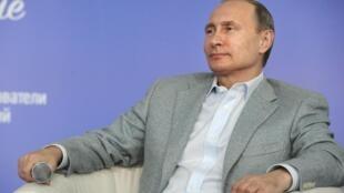 Le président Poutine a répondu présent lors du forum « Territoire des idées », dans la région de Vladimir, le 14 juillet 2015.