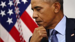 奥巴马总统2017年1月6日在华盛顿接受媒体专访