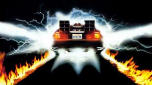 El DeLorean de 'Volver al futuro'.
