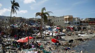 Algumas regiões do Haiti ainda não se recuperaram da passagem do furacão Matthew