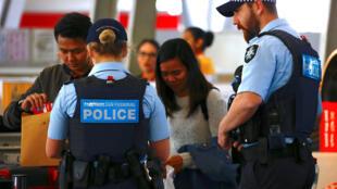 Segurança foi reforçada em todos os aeroportos da Austrália.