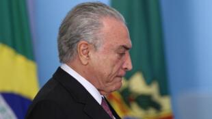Thêm một cáo buộc tham nhũng nhắm vào tổng thống Brazil Michel Temer.