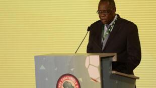 Issa Hayatou, président de la Confédération africaine de football depuis 1988.