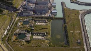 A central nuclear de Penly, no oeste da França.
