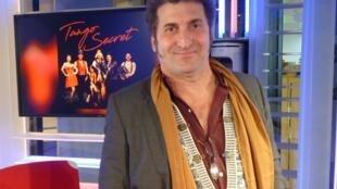 Luis Rigou en los estudios de RFI