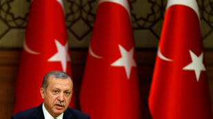 Recep Tayyip Erdoğan, un président de plus en plus autoritaire.
