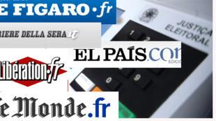 Segundo os jornais desta terça-feira, os bancos franceses podem perder até 40 bilhões de euros com um calote grego.