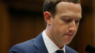 Marc Zuckerberg, le 11 avril 2018 au Capitole.