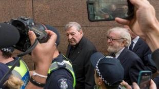 Le cardinal australien George Pell, en 2017 à Melbourne.(image d'illustration)