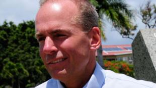Dennis Muilenburg, le patron de Boeing