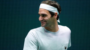 Roger Federer was scheduled to play on centre court on Wednesday evening but Milos Raonic pulled out of their match.