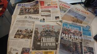 Diários franceses 20.07.2017