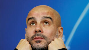 Pep Guardiola manager of Premier League club Manchester City, at a recent press conference