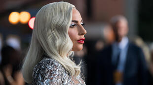 Lady Gaga at the premiere of A Star is Born in Los Angeles September 2018.