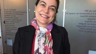 A escritora brasileira, Lilian Fontes.