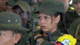 Extracto de 'El Silencio de los fusiles', documental de Natalia Orzoco sobre las negociaciones de paz.