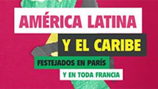 Cartel de la semana de América Latina y el Caribe en Francia