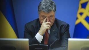 Ukrainian President Petro Poroshenko in Kiev in August.