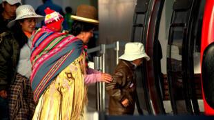 Le téléphérique de La Paz a immédiatement trouvé son public.