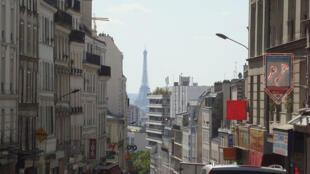 Belleville neighbourhood, Paris