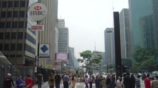 Avenida Paulista, em São Paulo.