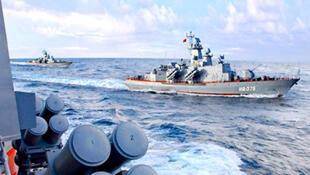 Chiến hạm Trung Quốc tuần tra trên Biển Đông (DR)