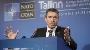 Генеральный Секретарь НАТО Андерс Фог Расмуссен, Таллинн, 23 апреля 2010