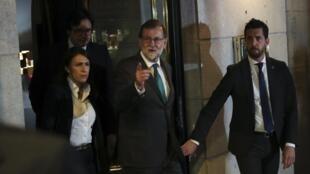 Waziri Mkuu wa Hispania Mariano Rajoy, Madrid Mei 31, 2018.