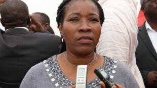 Albina Guilhermina Luís, adminsitradora do Município do Kilamba Kiaxi, em Luanda
