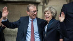 Le couple Theresa et Philip May va emménager mercredi 13 juillet dans la résidence du Premier ministre.