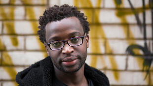 Burundian author Roland Rugero