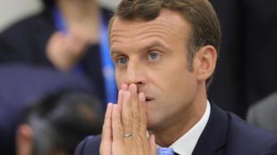 """Segundo o presidente francês, Emmanuel Macron, """"Itália merece um governo e líderes que estejam à altura""""."""