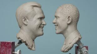 Obama mantiene ventaja frente a Romney antes del primer debate.
