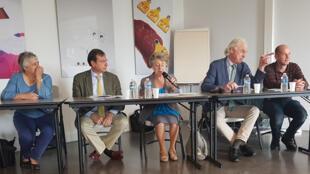 L'Assemblée générale annuelle de la coopérative Unisylva, au Pôle de Lanaud, à Boisseuil.