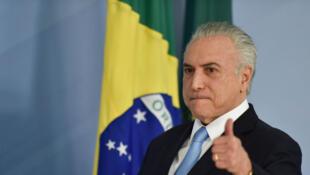 Michel Temer, presidente do Brasil.