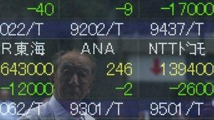 The Tokyo stock exchange on Friday
