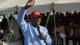 MDC leader Morgan Tsvangirai last year