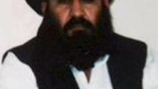 O mulá Akhtar Mansur, em foto de arquivo divulgada pelos talibãs.