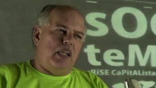 Lélio Falcão, ambientalista e um dos integrantes do comité organizador do Forum Social de Porto Alegre.