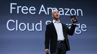 Jeff Bezos, président executif d'Amazon.