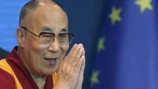 存檔圖片: 達賴喇嘛在歐洲 2016年
