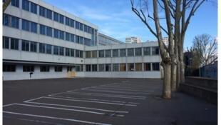 Le collège Maurice Utrillo dans le 18ème arrondissement de Paris.